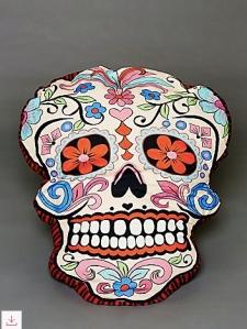 skull pillow copy